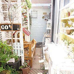 玄関/入り口/とたん屋根/コーギー犬/お庭です。/続きはブログで。のインテリア実例 - 2015-03-30 06:56:11