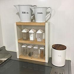 スパイスラック DIY/ダルトン/キッチンツール/シンプルが好き/すっきり暮らしたい...などのインテリア実例 - 2020-05-22 11:28:17
