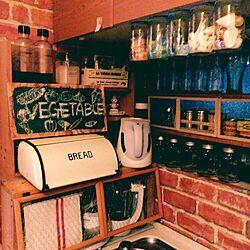 キッチン/DIY/セリア/いつもいいねをありがとうございます♡/勝手にフォローごめんなさいෆ̈...などのインテリア実例 - 2016-03-15 07:35:37