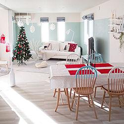 部屋全体/クリスマス/すっきり暮らす/心地よい暮らし/パステルカラー...などのインテリア実例 - 2018-12-24 09:03:13