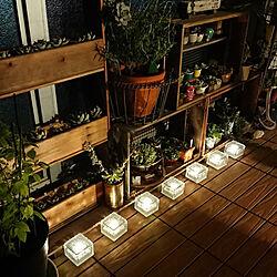 棚/ピッコロ/山善/山善くらしのeショップ/山善ガーデンライト...などのインテリア実例 - 2021-09-16 19:19:38