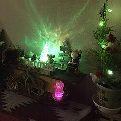 リビング/クリスマス/いいね押し逃げごめんなさい(>_<)/常にマイペースな私( ̄▽ ̄)/緑の有る暮らし大好き❤️...などのインテリア実例 - 2018-12-21 02:24:43