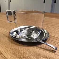 机/コーヒーカップ&ソーサー/a depeche/コーヒー/IKEAのインテリア実例 - 2018-02-20 17:59:49