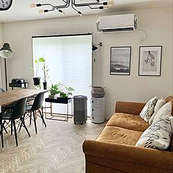 IKEA/グリーンのある暮らし/ポスターのある部屋/H&M HOME/リビングのインテリア実例 - 2020-06-03 21:36:25