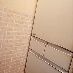 キッチン/ダイソー/ダイソーリメイクシート/冷蔵庫のインテリア実例 - 2020-07-11 18:20:22