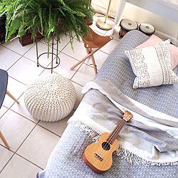 ベッド周り/ボンゴ/ブランケット/mudcloth/簡易ベッド...などのインテリア実例 - 2017-04-25 07:54:19