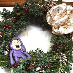 玄関/入り口/Christmasのインテリア実例 - 2012-12-12 16:25:57