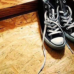 玄関/入り口/OSBボード/DIY/アウトレット建材屋/男前...などのインテリア実例 - 2017-06-08 14:07:14