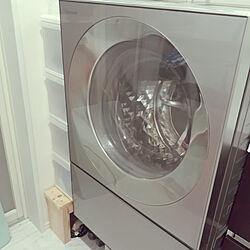 棚/排水ホース隠し/パナソニック/パナソニック洗濯乾燥機/CUBE...などのインテリア実例 - 2020-07-26 13:56:46