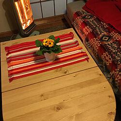 アラジングラファイトヒーター/ソファーベッド/ガーベラ♡/IKEAのテーブル/花のある暮らし+..・*❁...などのインテリア実例 - 2021-01-24 11:07:35