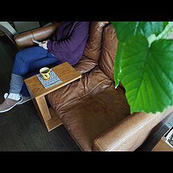 ホワイトオーク/マルトク/無垢材/カフェテーブル/DIY...などのインテリア実例 - 2016-02-09 11:03:40