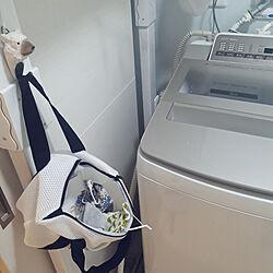 バス/トイレ/洗濯機まわり/マスク/ダイソー/洗濯ネットのインテリア実例 - 2020-09-12 08:26:19