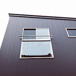 外観/窓/ガルバリウム鋼板/ガルバ/ガルバリウム...などのインテリア実例 - 2017-05-10 00:13:42
