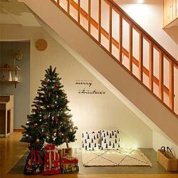 クリスマスプレゼント/クリスマスツリー/階段下収納/リフォーム記録/クリスマス...などのインテリア実例 - 2020-12-24 23:17:02