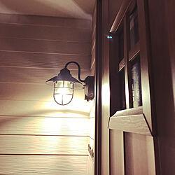 玄関/入り口/マリンランプ/センサーライト/玄関ランプ/玄関ライト...などのインテリア実例 - 2018-06-11 21:43:24