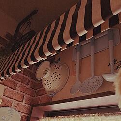 キッチン/ホーローコランダー/ホーローレードル/カフェ風キッチン/アンティーク調...などのインテリア実例 - 2020-05-25 15:14:36