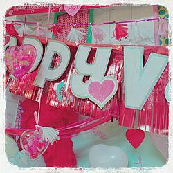 DIY/Love/ハート/発泡スチロール/ダイソーリメイク...などのインテリア実例 - 2016-02-07 01:41:50