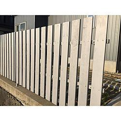 DIY/ウッドフェンスDIY/木の柵/木が好き/玄関/入り口のインテリア実例 - 2019-07-08 17:55:45