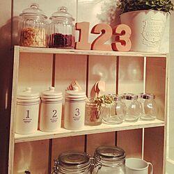 キッチン/DIY/雑貨/3COINS/ダイソー...などのインテリア実例 - 2014-08-26 00:32:00