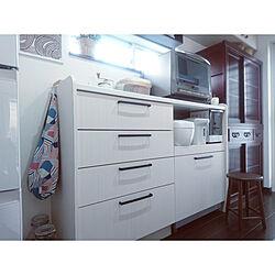 キッチン/セラーメイト/IKEA/キッチンボード/スツール...などのインテリア実例 - 2018-10-28 16:24:52