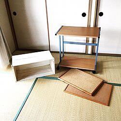 ベッド周り/ベッド周りではありません/リサイクル/DIY途中/おみせやさん...などのインテリア実例 - 2016-10-06 13:27:42