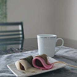 桜餅/おやつ/ダイニングテーブル&チェア/癒しセット/いいね、フォロー本当に感謝です♡...などのインテリア実例 - 2021-02-25 19:37:54