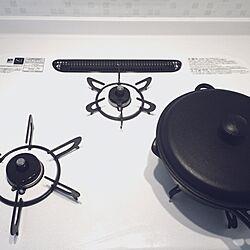 キッチン/南部鉄器/ひろまるコンロ/LIXIL アレスタのインテリア実例 - 2016-10-05 16:59:30