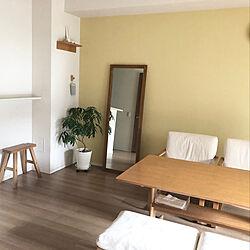 壁に付けられる家具/余白のある暮らし/暮らしを楽しむ/持たない暮らし/暮らしを整える...などのインテリア実例 - 2021-08-21 17:08:36