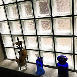 ガラスの瓶/スガハラガラス/馬のグラス/明かりとり/ガラスブロック...などのインテリア実例 - 2020-06-02 08:49:35