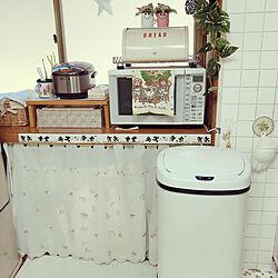 便利アイテム/センサーゴミ箱/ゴミ箱/キッチンのゴミ箱/昭和の家...などのインテリア実例 - 2020-11-04 12:17:29