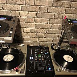机/DJブース/CDJ/DJ BOOTH/ターンテーブルのインテリア実例 - 2016-12-18 23:15:53