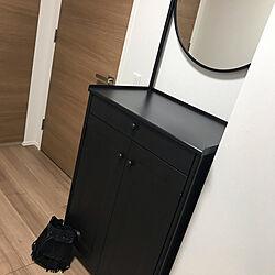 ミラー/無機質インテリア/一生ものの家具/IKEA/ステンレスが好き...などのインテリア実例 - 2020-08-10 20:57:46