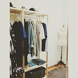 棚/ウォークインクローゼット/衣装部屋/衣装スペース/衣類収納...などのインテリア実例 - 2018-07-16 17:13:37