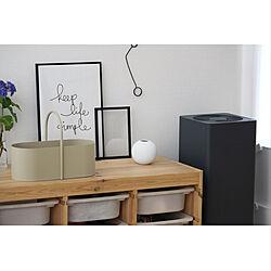 ポスターフレーム/トロファスト/収納棚/IKEA/バルミューダ...などのインテリア実例 - 2021-05-27 23:00:33