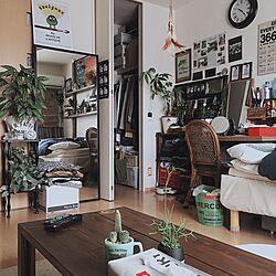 リビング/すのこ棚DIY/ポスター/ベッド/MERCURY...などのインテリア実例 - 2016-04-12 10:25:02