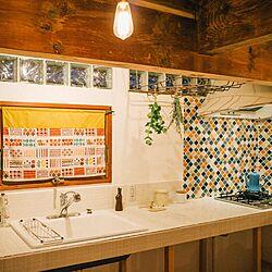 キッチン/窓/アンティーク/アイアン/漆喰...などのインテリア実例 - 2016-06-28 21:00:10