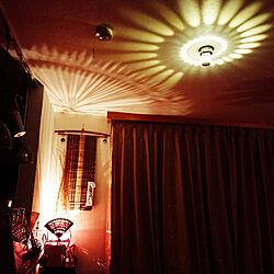 壁/天井/アジアン/ライト照明/カーテンのインテリア実例 - 2019-04-09 22:30:58