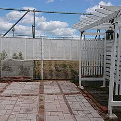 玄関/入り口/ガーデニング/DIY/レンガ/荒れた庭...などのインテリア実例 - 2021-09-27 18:26:54