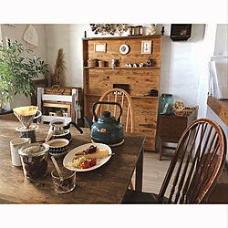 朝ごはんの風景/食卓/アーコールチェア/暮らし/コーヒー...などのインテリア実例 - 2020-02-04 19:37:34