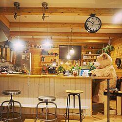 キッチン/キッチン収納/キッチンカウンター/インテリア/無垢材...などのインテリア実例 - 2016-11-01 20:13:30