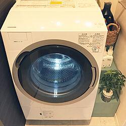 洗濯機パン隠し/洗濯機周辺/洗濯機/賃貸/洗濯機パン...などのインテリア実例 - 2018-09-06 09:58:50
