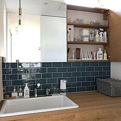 洗面スペース/丁寧な暮らし/シンプルホーム/シンプルに暮らす/Instagramやってます...などのインテリア実例 - 2020-08-31 13:21:14
