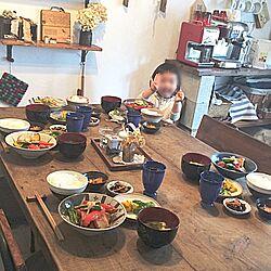 リビング/ランチ/和食ランチ/うちカフェ/Minca465のインテリア実例 - 2016-02-09 21:03:55