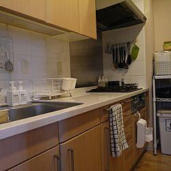 キッチン/ニトリのタオル/無印のディスペンサーのインテリア実例 - 2016-12-28 14:47:08