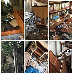 2018.4.14/熊本地震から2年/ベッド周り/地震/記録として...などのインテリア実例 - 2018-04-14 13:58:00