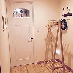玄関/入り口/リピート品/ナチュラル/ニトリ/無印のインテリア実例 - 2017-07-10 23:10:30
