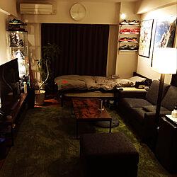 オタク部屋/観葉植物/リビング/IKEA/アウトドア...などのインテリア実例 - 2019-12-23 00:42:21