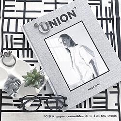 Union/union magazine/モノトーン/白黒/igやってます☆...などのインテリア実例 - 2019-04-16 17:30:02