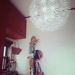 玄関/入り口/IKEAの照明/IKEAのインテリア実例 - 2014-03-26 14:14:49