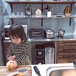 キッチン/ふるさと納税について教えて下さい!/炊飯器どーしよー/お手伝い/アレスタ システムキッチン...などのインテリア実例 - 2018-12-01 22:38:59